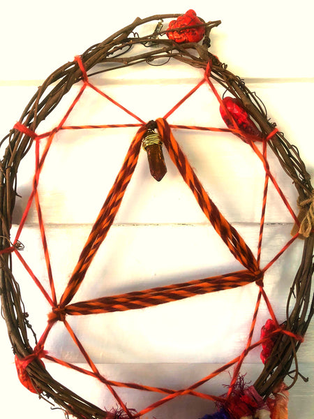 Visions of Red Dreamcatcher