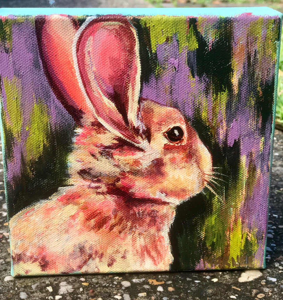 Brown Bunny Original Painting
