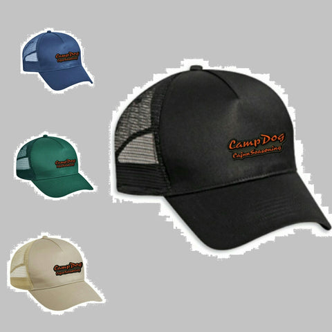 Camp Dog Logo Trucker  Cap