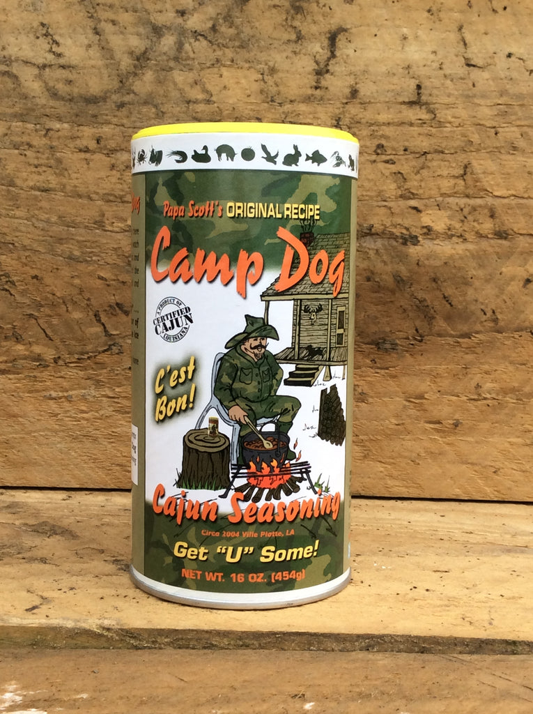 Camp Dog Original Seasoning 16oz