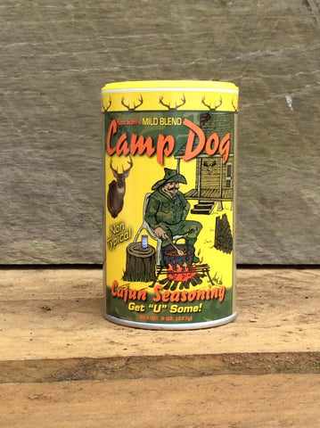 "Camp Dog Seasoning Mild ""Non-Typical"" Blend 8oz"