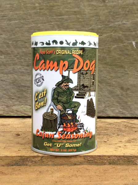 Camp Dog Original Seasoning 8oz