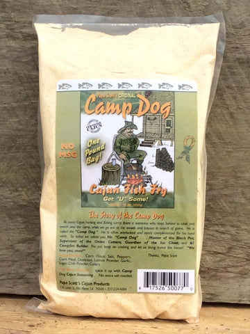 Camp Dog Seasoned Fish Fry 16oz