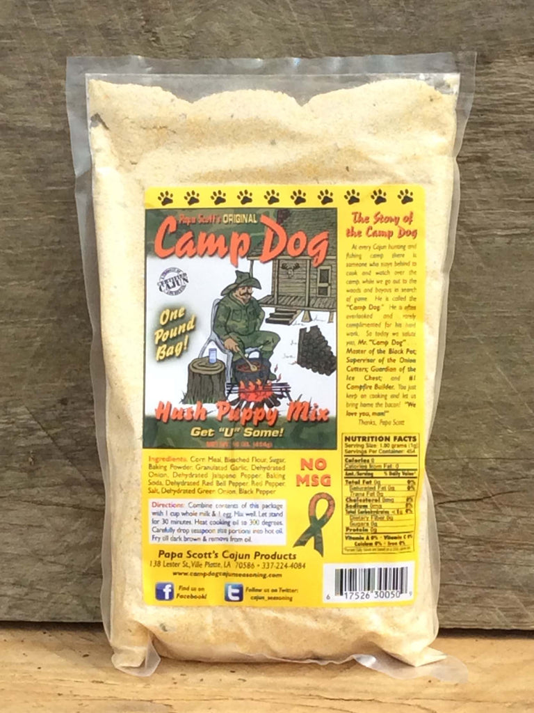 Camp Dog Hush Puppy Batter 16oz