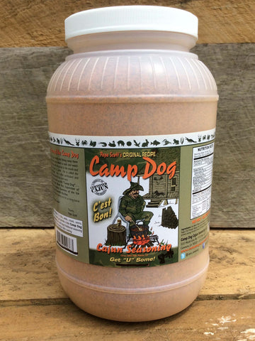 Camp Dog Original Seasoning Gallon