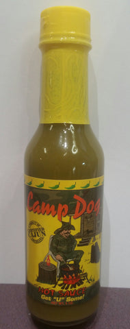 Camp Dog Jalapeno Hot Sauce 5oz.