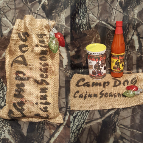 "Cajun Seasoning Gift Sack (small) 6"" by 10"""