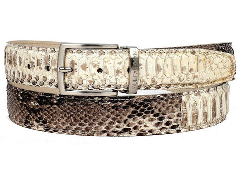 Paul Parkman Natural Genuine Python (snakeskin) Belt
