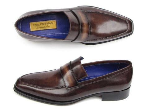 Paul Parkman Loafer Bronze Hand Painted Shoes