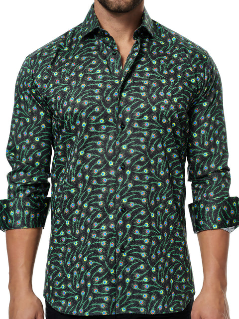 Maceoo shirt - Class Fluo Feather