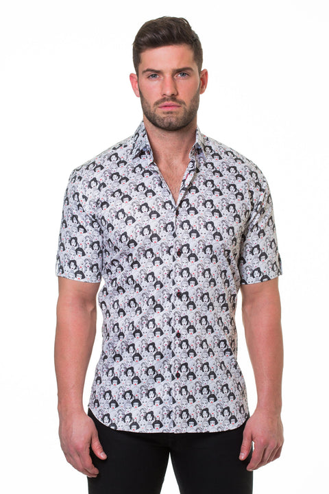 Maceoo shirt - Fresh Runaway Grey