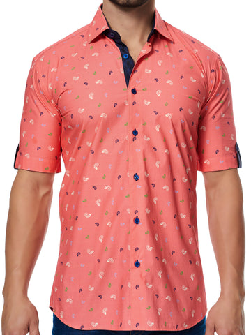 Maceoo shirt - Fresh SS Coral Shell