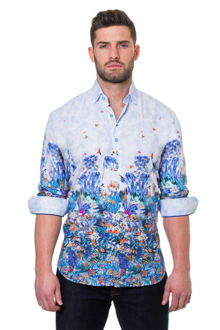 Maceoo shirt - Luxor Amazon Blue