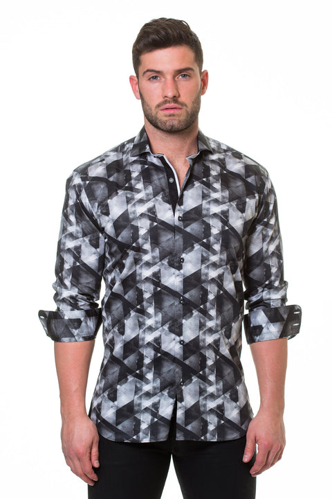 Maceoo shirt - Luxor Could Grey