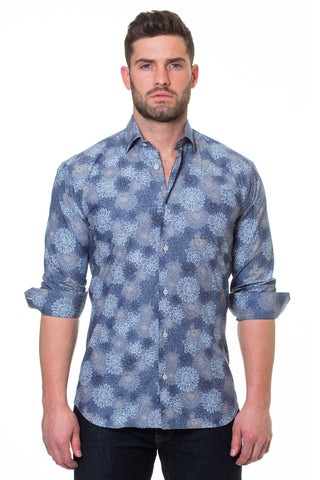 Maceoo shirt - Luxor Mary Blue