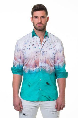 Maceoo shirt - Luxor Shark White