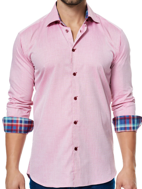Maceoo shirt - Luxor Micro Red