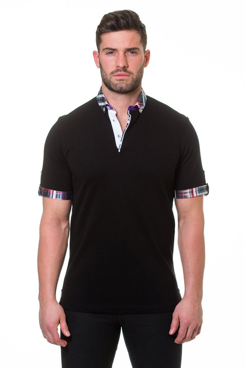 Maceoo Polo S Picque Fiber Black