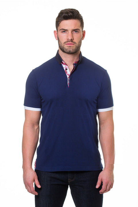 Maceoo Polo S Picque Navy