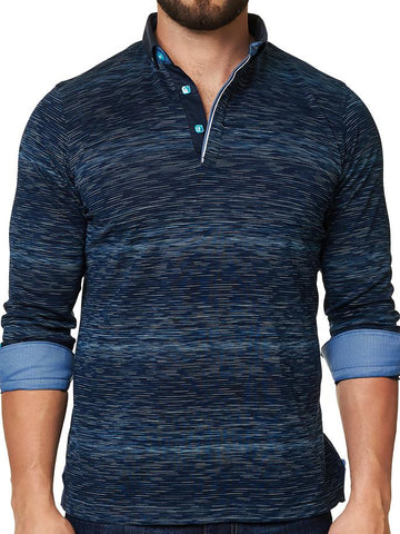 Maceoo Polo shirt - Polo L Ing Navy