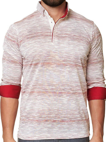 Maceoo Polo shirt - Polo L Ing White Red