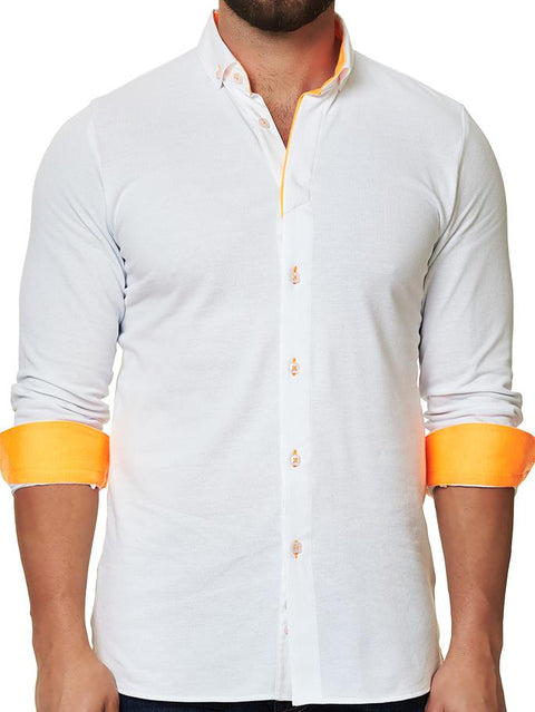 Maceoo Polo shirt - Polo L New White Fluo