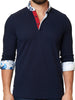 Maceoo Polo shirt - Polo L Solid Navy