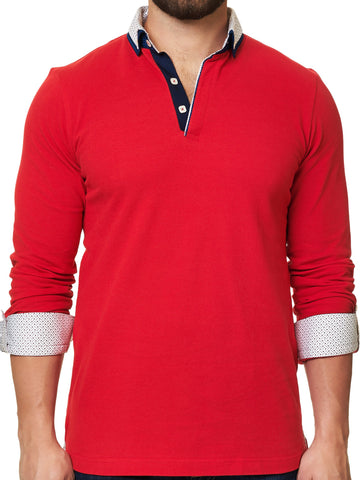 Maceoo Polo shirt - Polo L Solid Red Dc