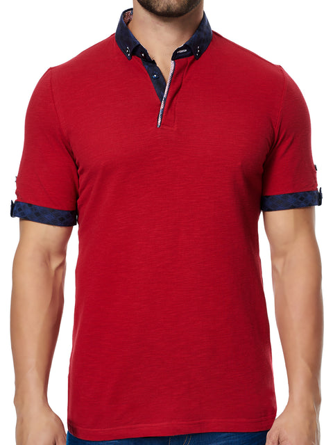 Maceoo Polo S Wavy Red BC