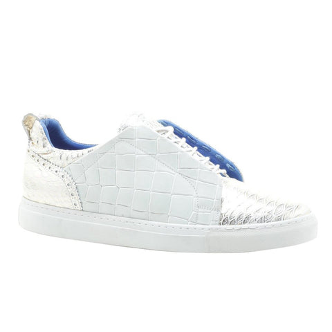 Maceoo Sneakers - Casual Aligator Champagne