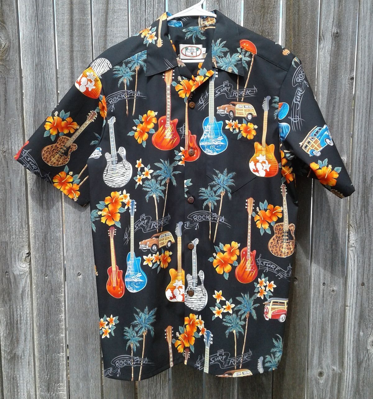 Surf Rock Aloha Shirt