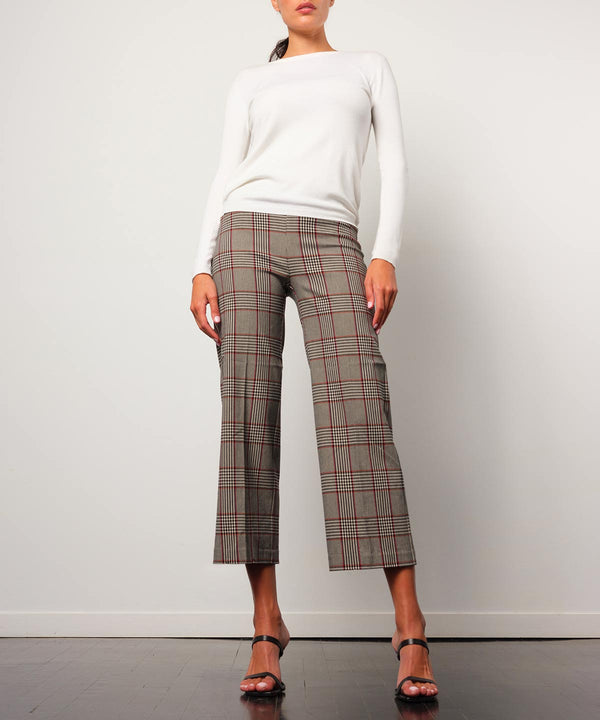 ALEX Flannel Tartan Plaid - AVENUE MONTAIGNE