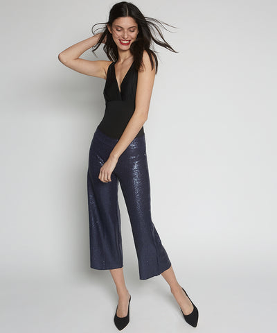 Alex Sequin Wide Leg Pants