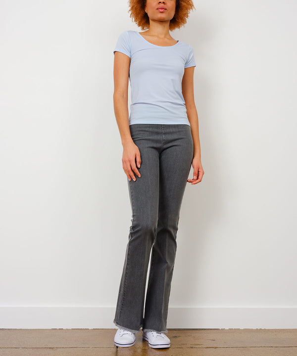 BELLINI Light Grey Denim - AVENUE MONTAIGNE