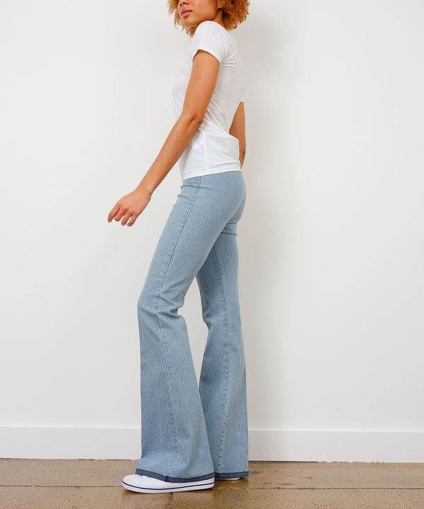 BELLINI Ribbed Denim - AVENUE MONTAIGNE