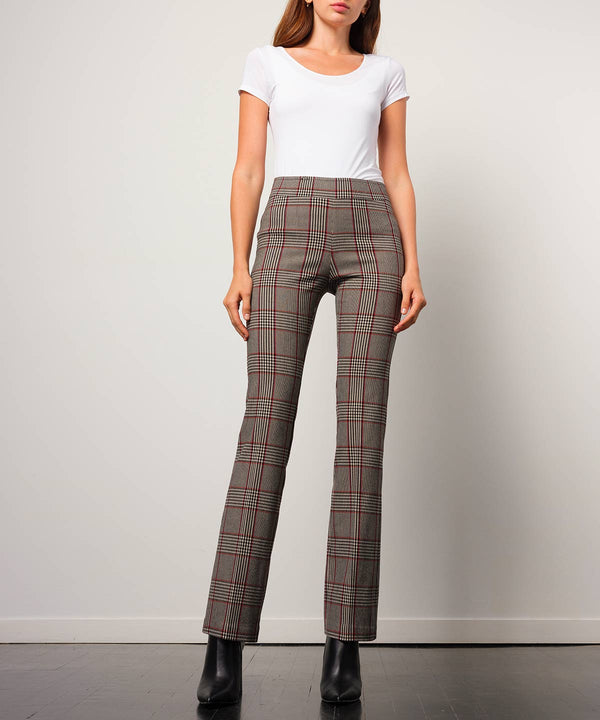 BECCA Flannel Tartan Plaid - Avenue Montaigne