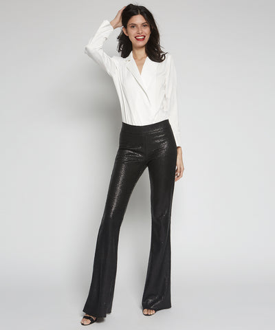 Bellini Flare Sequin Pants