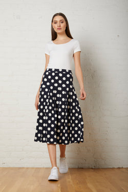 PLEATED SKIRT - Avenue Montaigne