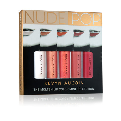 NUDEPOP The Molten Lip Color Mini Collection