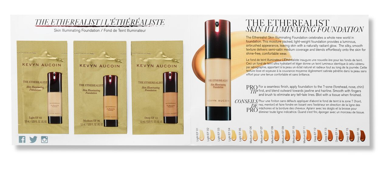 Packette: The Etherealist Skin Illuminating Foundation Trio