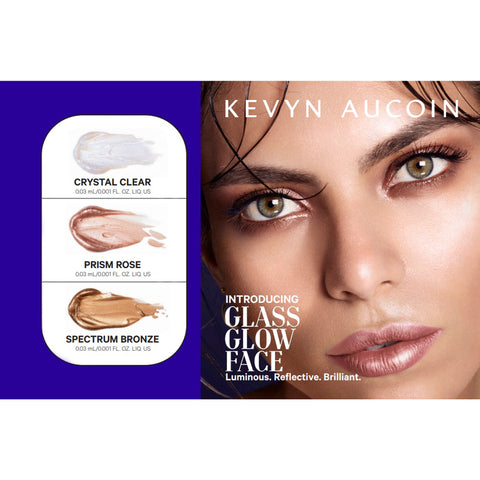 Glass Glow Face and Body Gloss Sample - Try All 3 Shades