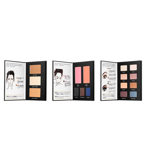 Kevyn Aucoin making faces palette open