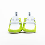 Lime Green + White