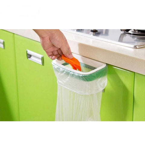 Hanging Kitchen Trash Bag Holder