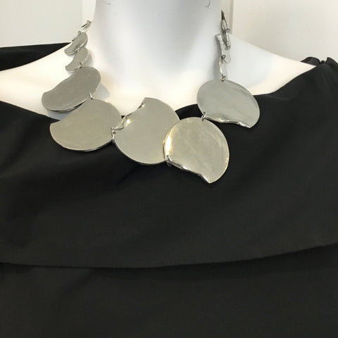 Anne-Marie Chagnon Silver Necklace