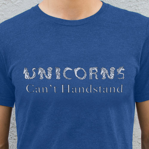 Unicorns Can't Handstand Men's T-Shirt