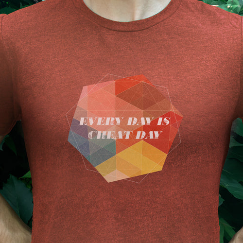 Cheat Day Everyday Men's T-Shirt