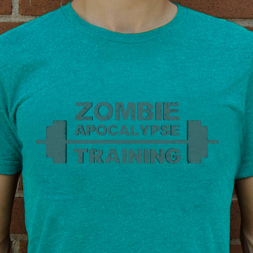 Zombie Training Men's T-Shirt