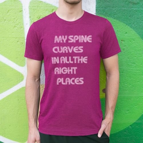 Spine Curves Men's T-Shirt