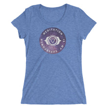 Meditation Superpower Women's T-Shirt